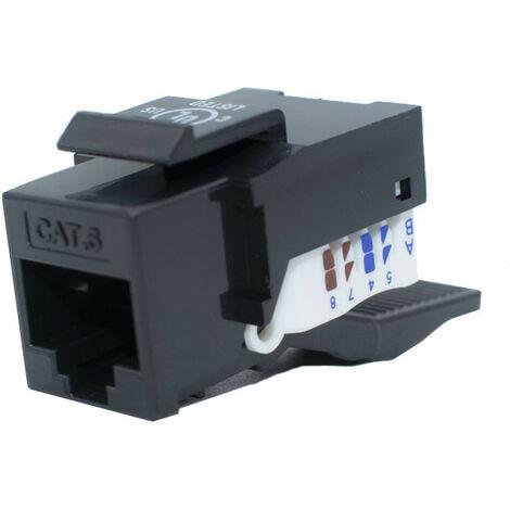 Conector hembra RJ45 Orca CAT 6 UTP sin herramientas 8 Posiciones 233140-00