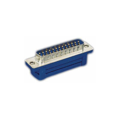 """Conector macho """"D"""" para cable plano 15 contactos Electro Dh 08.400/15 8430552059690"""