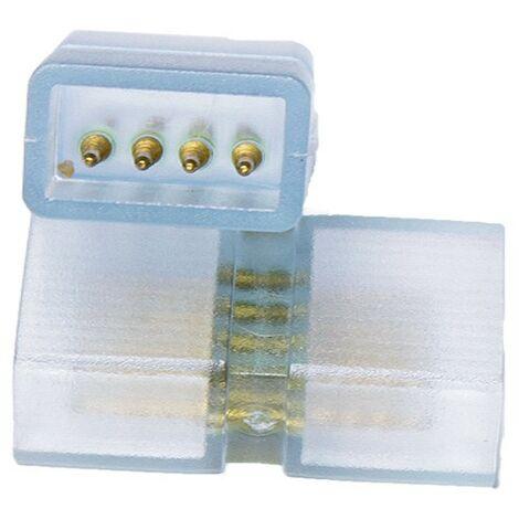 conector macho para cinta RGB 220V