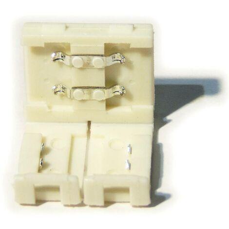 Conector para tiras LED 12V monocolor 8mm directo sin cable