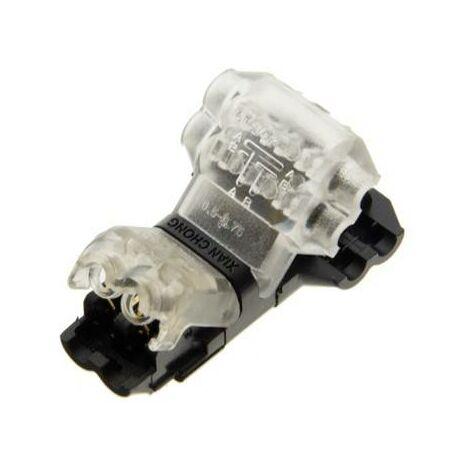 Conector rápido en T para 2 cables en paralelo - máx. 36V - 9A