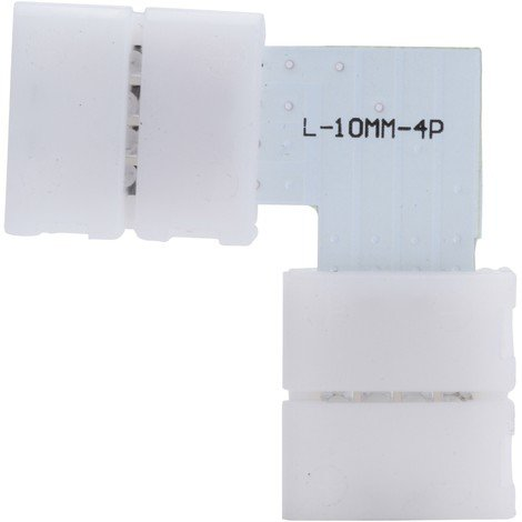 "main image of ""Conector Rápido L Tira LED RGB 12/24VDC (KD-CONRAP-L-RGB)"""
