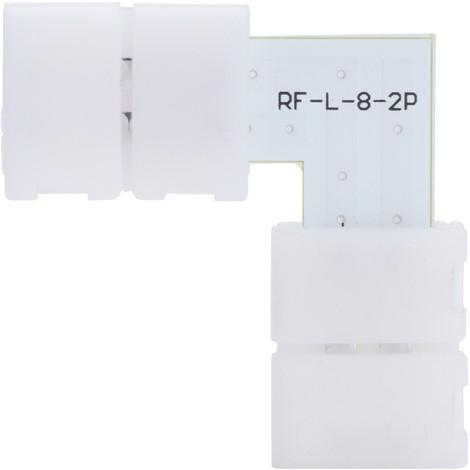 Conector Rápido L Tira LED SMD3528/2835 12/24VDC (KD-CONRAP-L-3528)