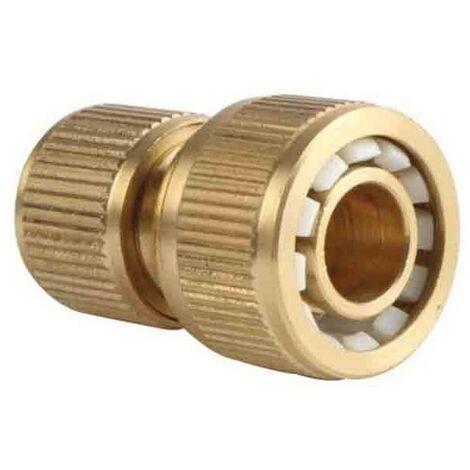 """Conector rápido latón para mangueras 15mm 1/2"""""""