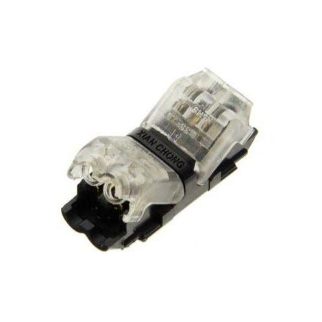 Conector rápido para cable 2 pin en serie - máx. 36V 9A