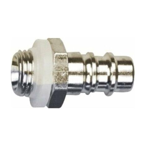 """Conector rápido unidad de cintura Rectus 25 macho rosca macho 1/4"""" BSP"""