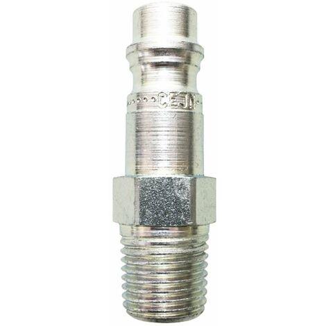 """Conector rápido unidad de cintura Rectus 95 macho rosca macho 1/4"""" BSP (3 conectores)"""