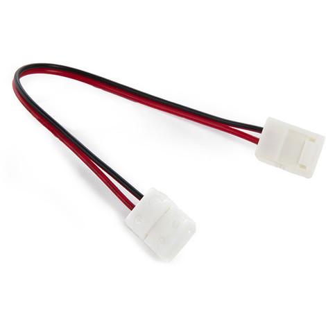 Conector Tira LED SMD3528/2835 2 Vías Doble 12/24VDC (KD-CON3528DOBLE)