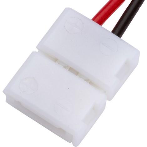 Conector Tira LED SMD3528/2835 2 Vías Simple 12/24VDC (KD-CON3528SIMPLE)