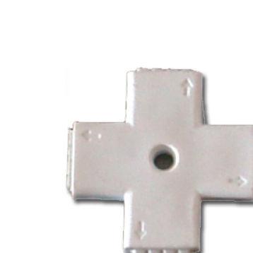 Conector Tiras LED 5050 RGB 4 PIN Cruz