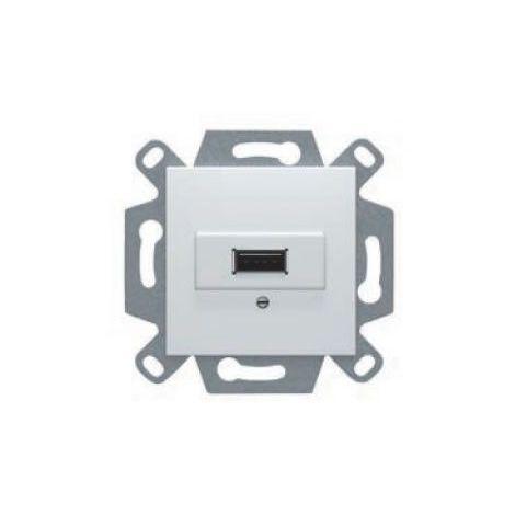 Conector USB tipo A blanco BJC Viva 53578-USB
