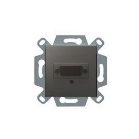 Conector VGA gris lava serie VIVA BJC 23578-VGA-GL