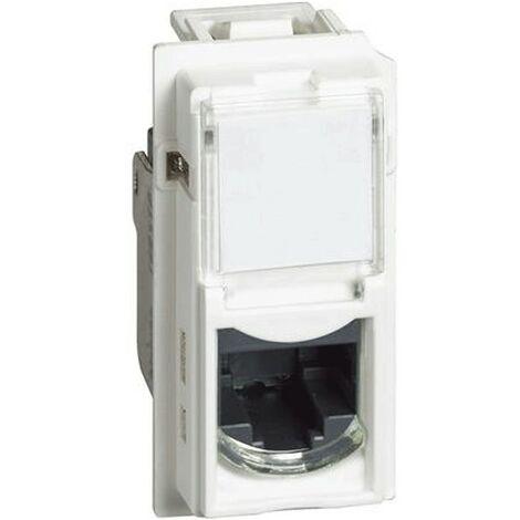 Conectores RJ45 Bticino Living Living Now sin herramientas UTP cat5E blanco KW4279C5E