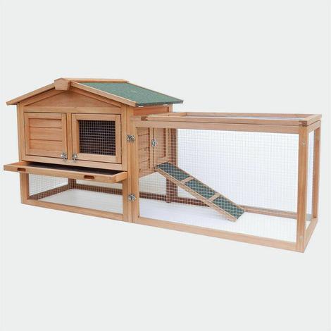 Conejera de madera 155 * 53 * 70 cm