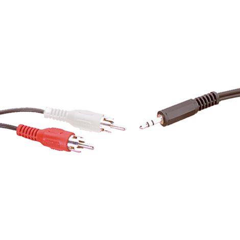 Conexión Audio inyectada de 1 m Electro Dh 37.220/1/GR 8430552082551