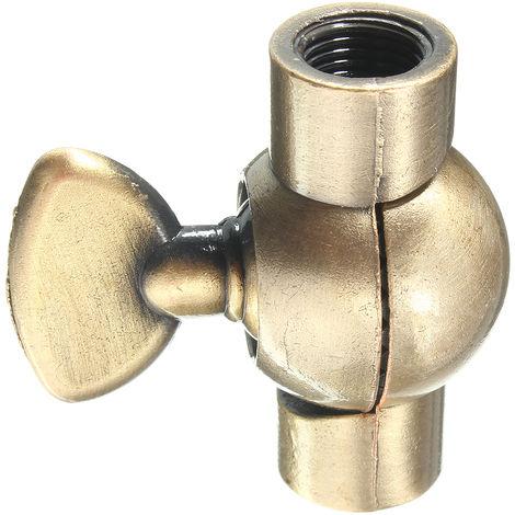Conexión de la lámpara Retro Vintage Chandelier 40 * 40 * 15 mm Sasicare