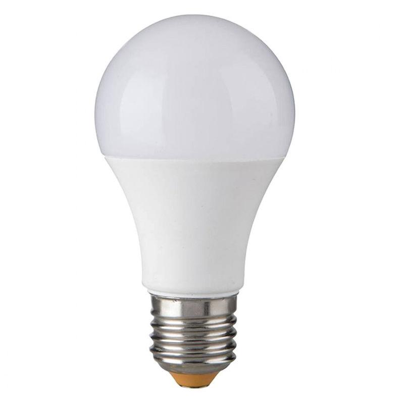 Confezione 10 lampadine gea led gla230 e27 10w led 240° plastica opale luce calda fredda naturale, tonalità luce 4000°k (luce naturale)