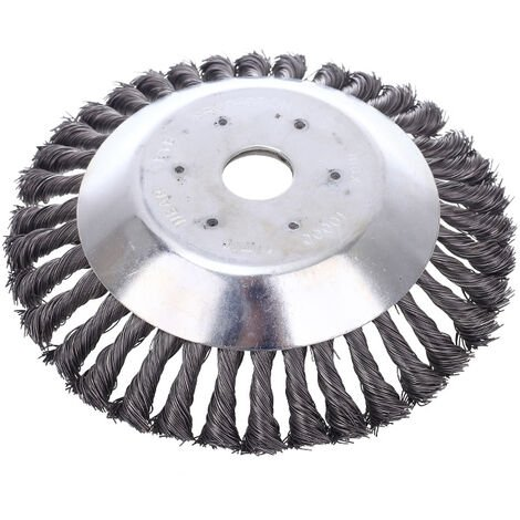 """main image of """"Conical brushcutter head with 200 mm ring for turf trimmer - metal weeding tray for brushcutter (15cm)"""""""