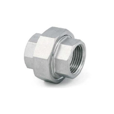Conical Union 1-1/4 inch BSP Female - Female A4 (T316) marine Grade Stainless Steel
