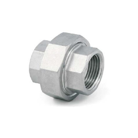 Conical Union 1 inch BSP Female - Female A4 (T316) marine Grade Stainless Steel