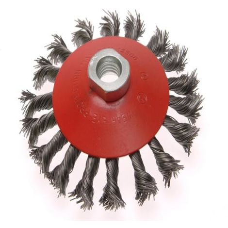 Conical Wire Brushes