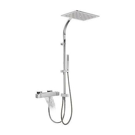 Conjunto bañera-ducha termostática. Slim