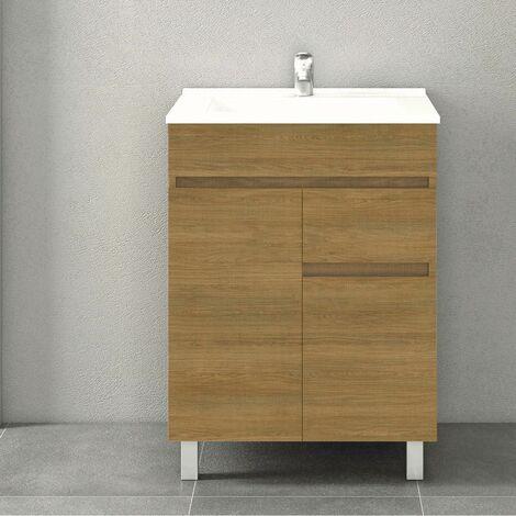 Conjunto CLIF, Mueble de lavabo 60cm y espejo