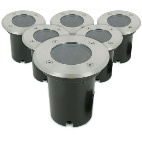 """main image of """"Conjunto de 6 Downlights INOX 304 GU10 IP67"""""""