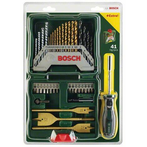 Conjunto de accesorios, 40 elementos Bosch Titanium X-Line