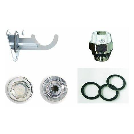 Conjunto de accesorios para radiador de aluminio Baxi