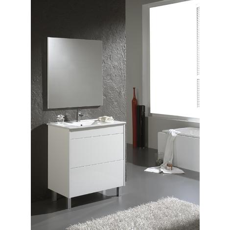 Conjunto de baño Push Blanco