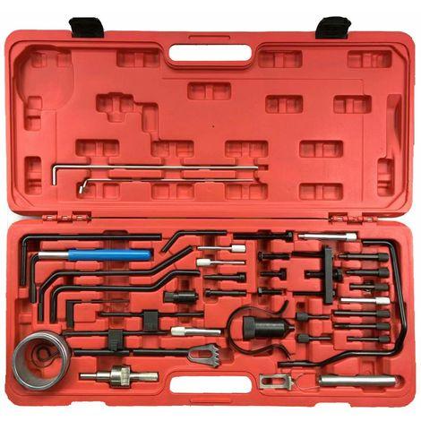 Conjunto de calado de distribucion para Citroen, Peugeot, Land Rover, Mitsubishi motores Diesel HDI y Gasolina HPI