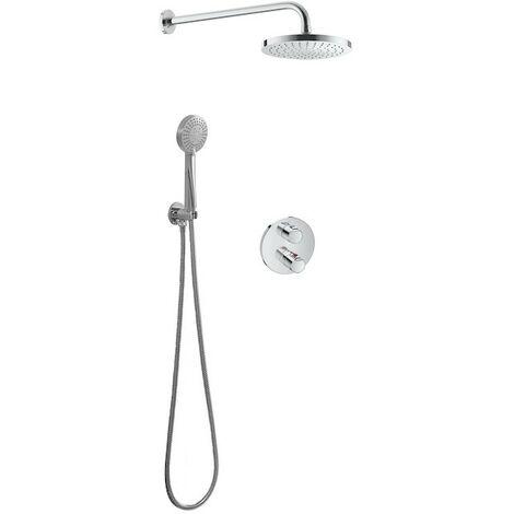 Conjunto de ducha basic termostático T-500 - ROCA