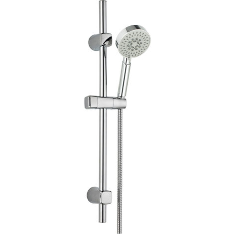 "Conjunto de ducha ""Com"" (Barra de ducha, mango de ducha y flexo)"