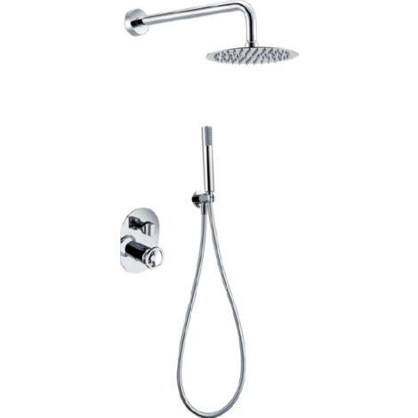 Conjunto de ducha empotrada serie Olimpo