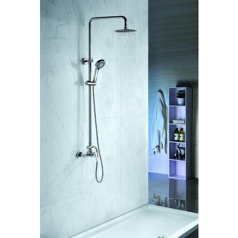 Conjunto de ducha modelo ROMA \ Cromado