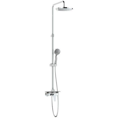 Conjunto de ducha monomando con repisa EVEN - ROCA