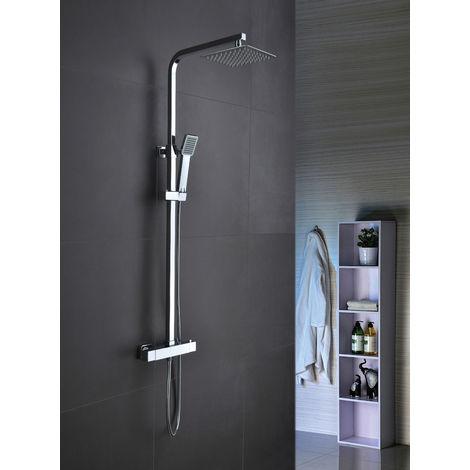 Conjunto de ducha TERMOSTÁTICA modelo VIGO \ Cromado