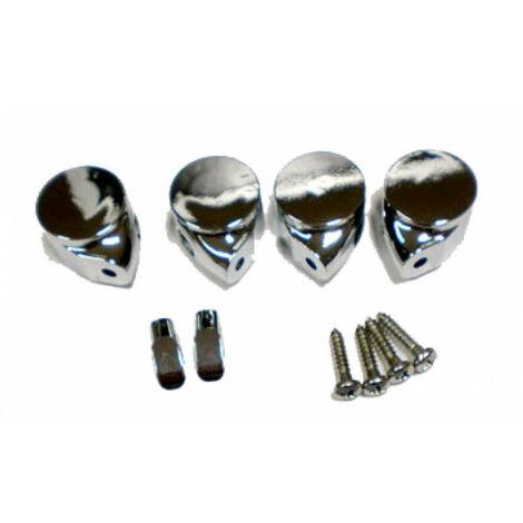 Conjunto de elementos metálicos para bisagra de caída amortiguada de Roca (I0001100R)