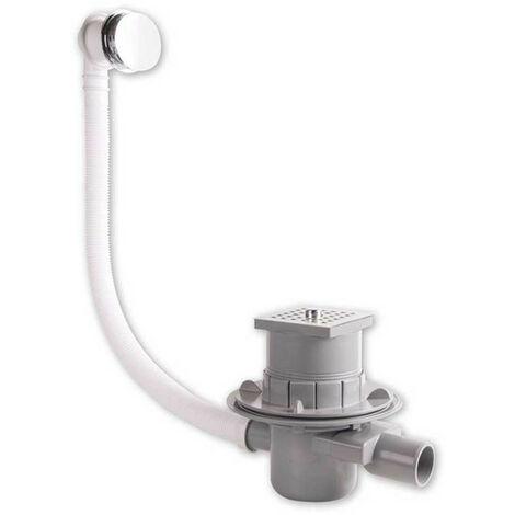 Conjunto de los gases de escape para un built-en la bañera OMP con sifón 575.611.8
