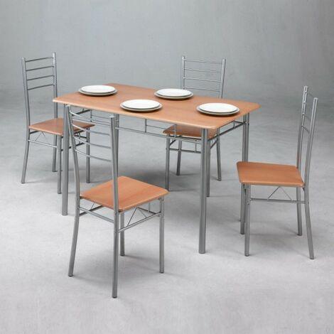 """main image of """"Conjunto de mesa + 4 sillas"""""""