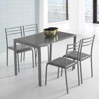 37ed8a6909cc3 Conjunto de mesa y 4 sillas