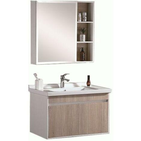 Conjunto de mueble de baño NOVA Lavabo + Armario Espejo