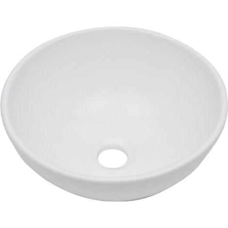 Conjunto de muebles de bano 2 piezas ceramica blanco