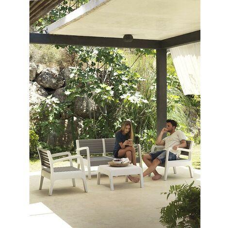 Conjunto de muebles de jardín Miami Piedra