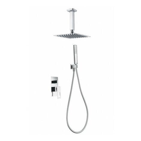 Conjunto ducha empotrado Estocolmo cromo Imex
