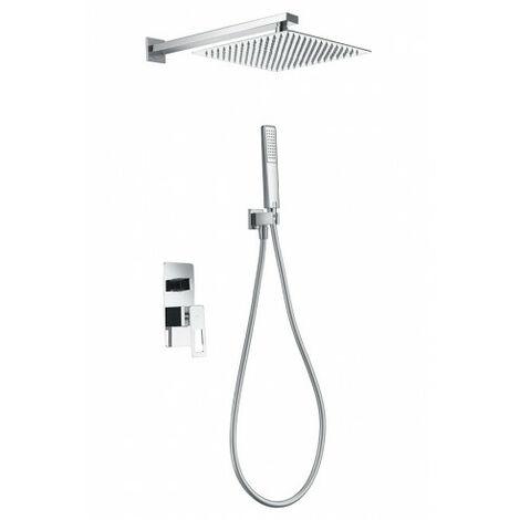 Conjunto ducha empotrado Suecia cromo Imex