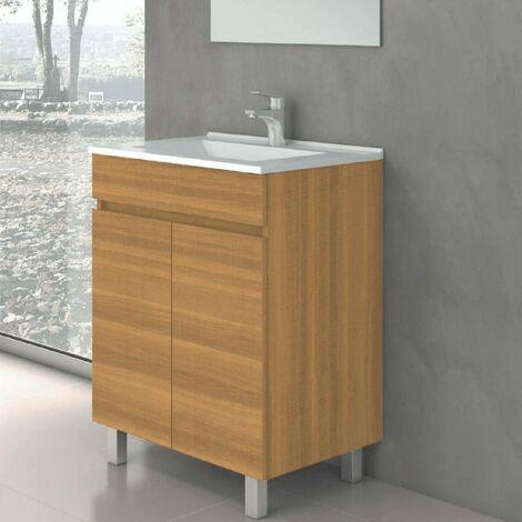Conjunto LUUP, Mueble de lavabo 60cm y espejo