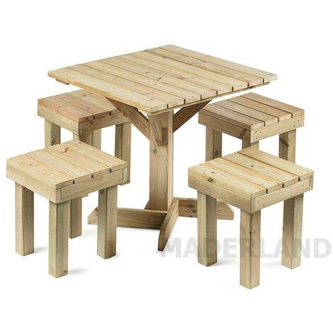 Conjunto Muebles de Jardín Teruel