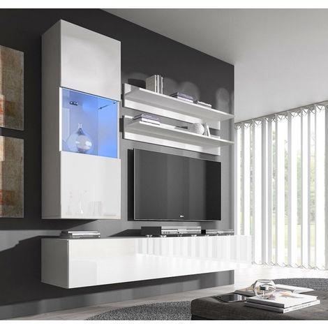 Conjunto muebles Nora blanco modelo H